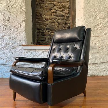 Mid century lounge chair Danish modern arm chair mid century recliner by VintaDelphia