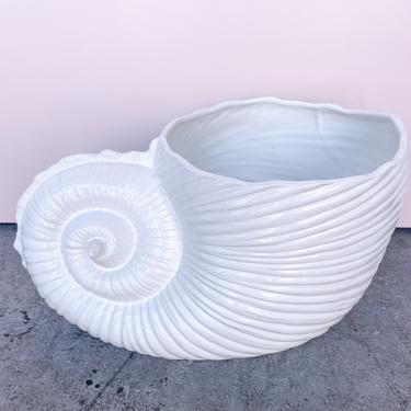 Large Italian Shell Cachepot