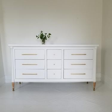 Beautiful mid century modern dresser crede