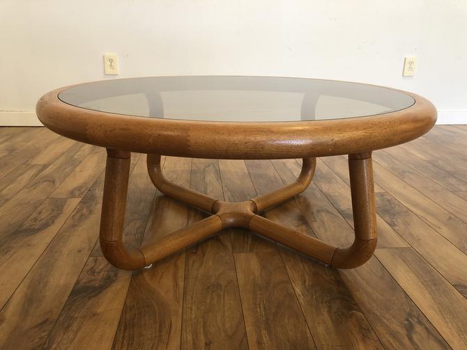 Uldum Mobelfabrik Teak & Glass Coffee Table