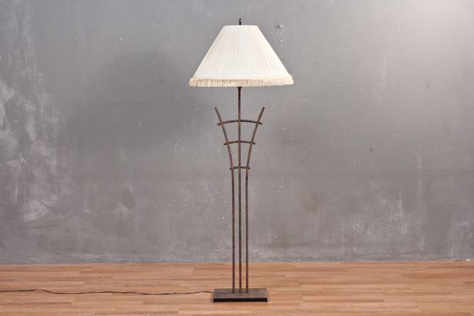 Iron Lattice Floor Lamp