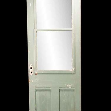 Antique 2 Pane 2 Lite Swinging Porch Door 83.75 x 27.75