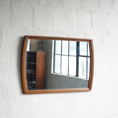 Kent Coffey Walnut Mirror