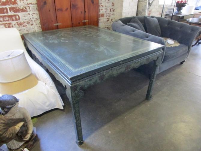 LARGE CHINOISERIE TABLE