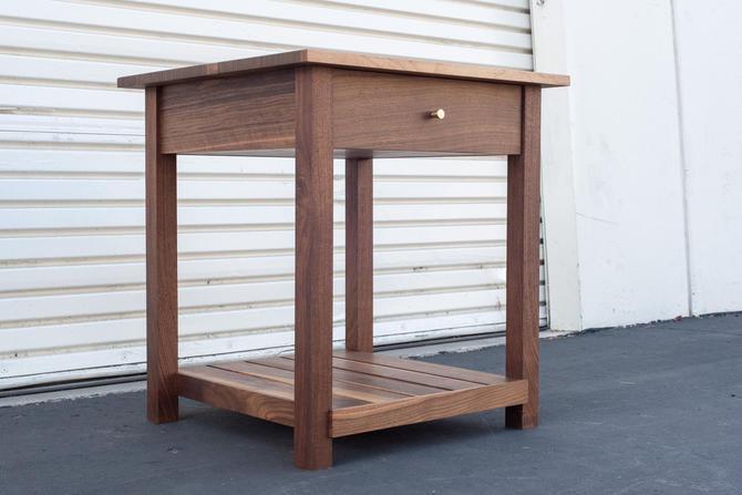 Custom Listing - Elaine - Walnut End Table by ADCOWoodWorks
