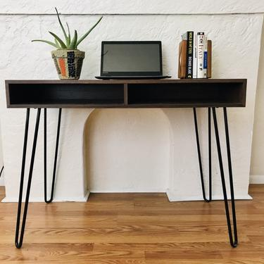 MID CENTURY Style Desk with Hairpin Legs (Los Angeles) by HouseCandyLA