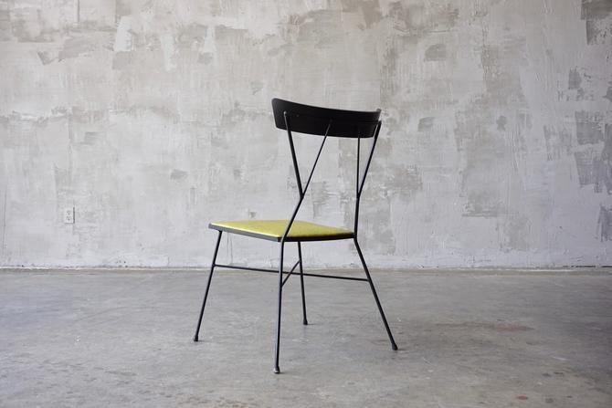 Rare Paul McCobb Iron Chair by FandFVintage