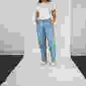 Levis Silver Tab Light Wash Baggy Fit Boyfriend Jeans Size 28