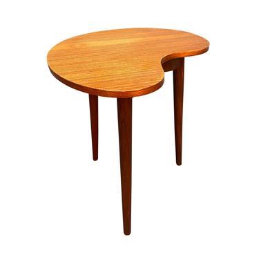 Vintage Danish Mid Century Modern Teak Side Table by Gorm Mobler by AymerickModern