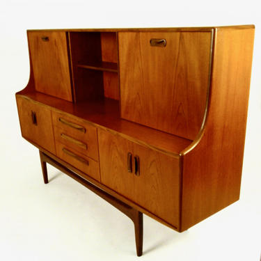 Teak Sideboard with Bar by V.B. Wilkins for G Plan