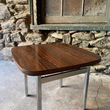 Mid century end table Danish modern side table mid century rosewood end table by VintaDelphia
