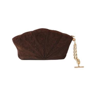 1930s Corde Clutch - 1930s Brown Clutch Purse - 1930s Clutch - 1930s Brown Purse - 1930s Purse - Vintage Corde Bag - 1930s Handbag - 30s Bag by VeraciousVintageCo