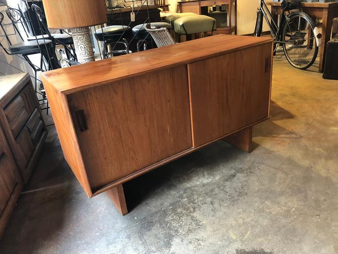 Danish Modern Teak Credenza by bcdrygoods