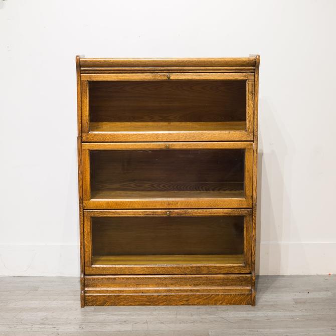 Antique Oak Lawyer's Cabinet c.1920-1940