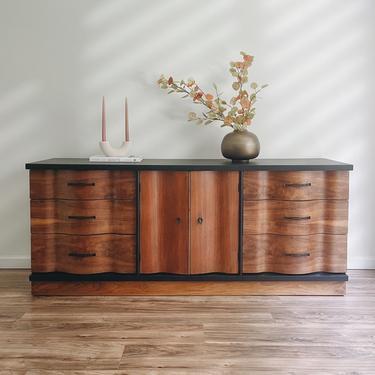 Mid Century Modern Dresser - Sideboard Buffet by madenewdesignct