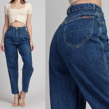 """Vintage Jordache High Waist Mom Jeans - Extra Small, 25"""" 