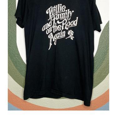 Black Willie Nelson & Fam Tee
