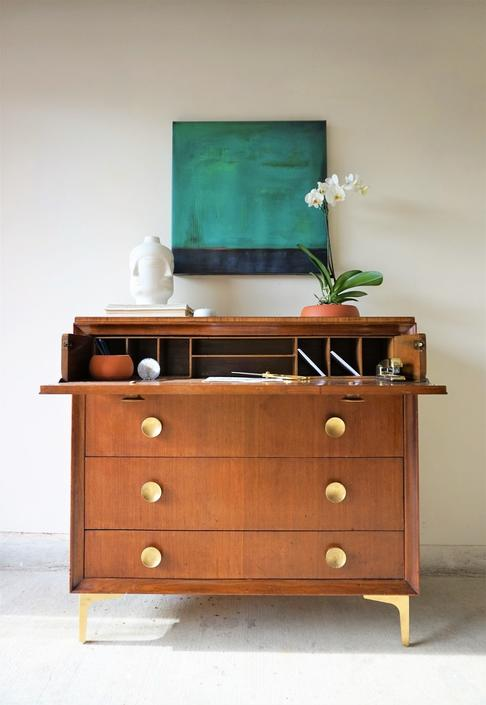 Vintage Hotel Secretary Dresser