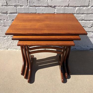 Mid Century Modern G Plan Nesting Tables by VintageVaultTulsa