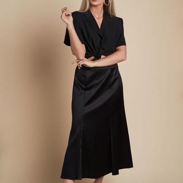 Because I Said So Silk Skirt