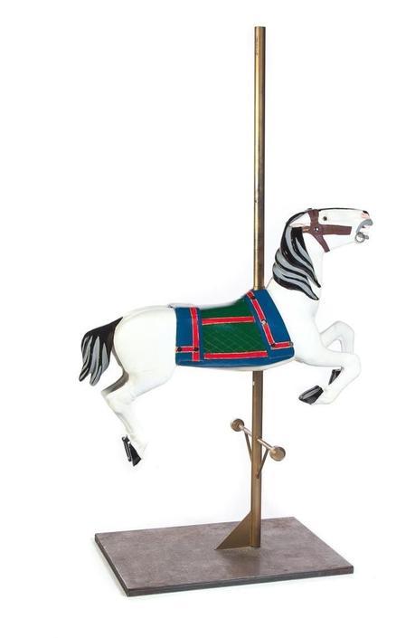 Antique American Carousel Horse