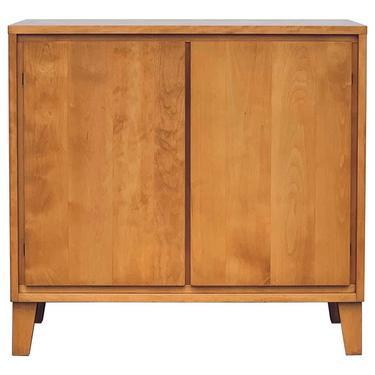 Pristine Conant Ball Credenza or Record Cabinet
