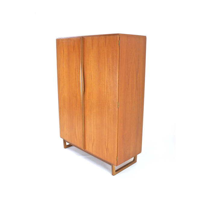 Mid Century Armoire by Stonehill Furniture of London by SputnikFurnitureLLC