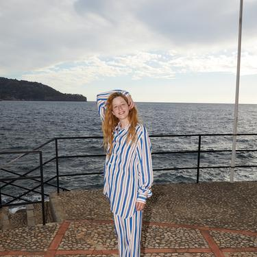 Terra Klein Blue Randa Pants