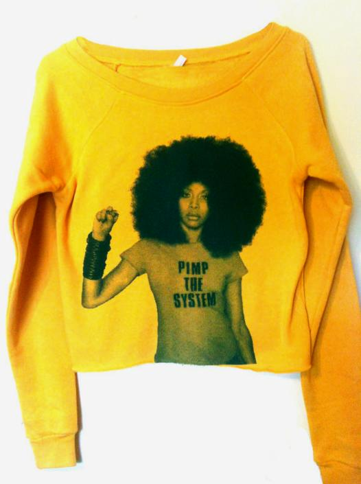Pimp Cropped Sweatshirt