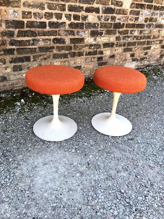 Vintage Saarinen Tulip Stool by Knoll