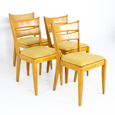 Heywood Wakefield M151 Mid Century Dining Chairs - Set of 4 - mcm by ModernHill