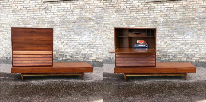 American Of Martinsville Dania Modular Bench-desk