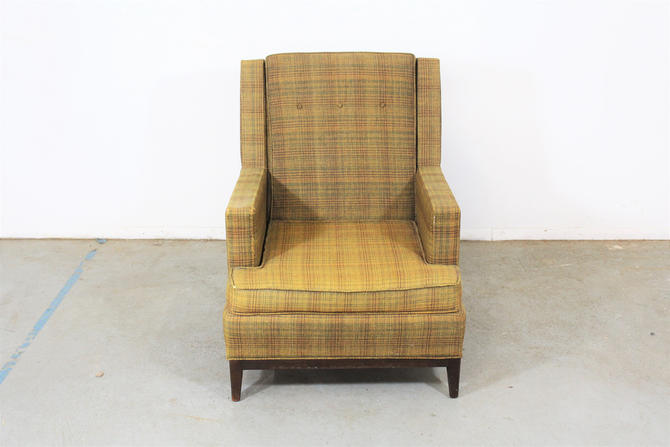 Mid-Century Modern Walnut Selig Style Lounge Chair by AnnexMarketplace