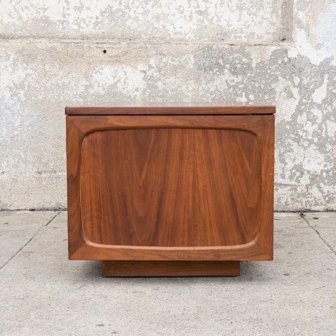 Vintage Walnut Occasional Cabinet/SideTable