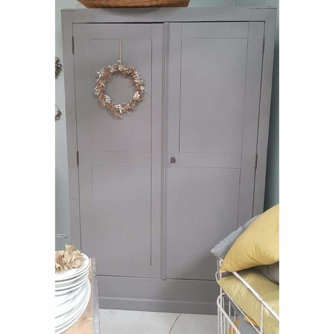 Vintage Painted Armoire