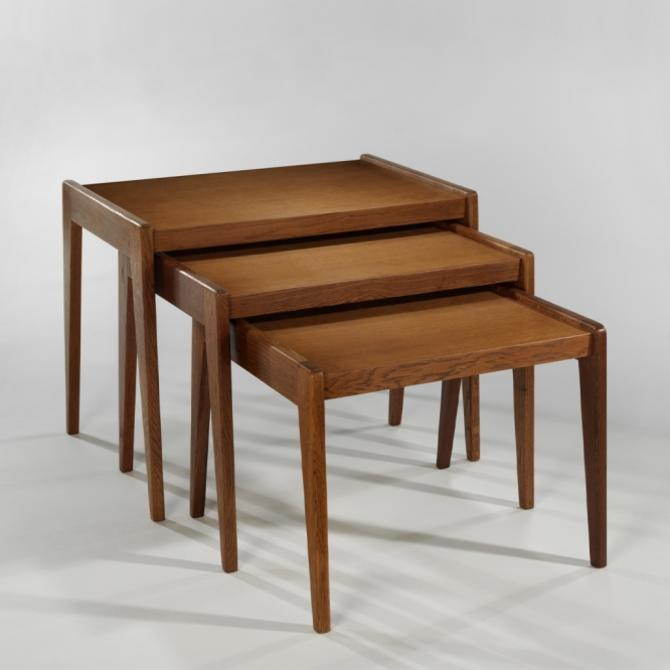 Alain Richard Set of 3 Nesting Tables