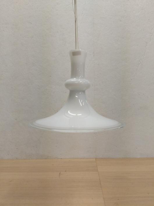 Vintage Danish Modern Holmegaard 'Etude' Pendant Lamp by FarOutFindsNYC