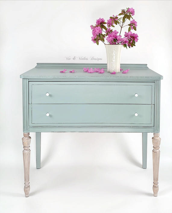SOLD***Petite Sideboard / Small Buffet / Farmhouse Sideboard / Entryway Table / Dining Room / Office / Living Room / by VivAndVioletsDesigns