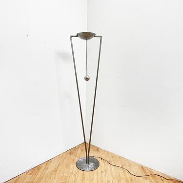 Ron Rezek Lamp Postmodern Torchiere Vintage Floor Lamp by 330Modern
