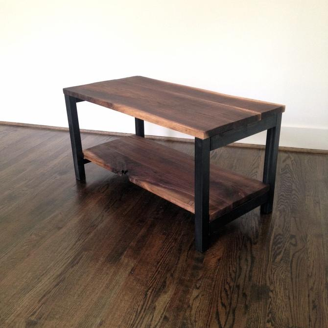 The PALOMA Coffee Table - Reclaimed Wood & Steel Coffee Table - Reclaimed Wood Coffee Table by arcandtimber