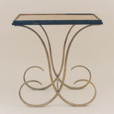 An Art Deco table, made to order and available in any height.