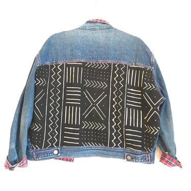 Black & Flannel Jean Jacket