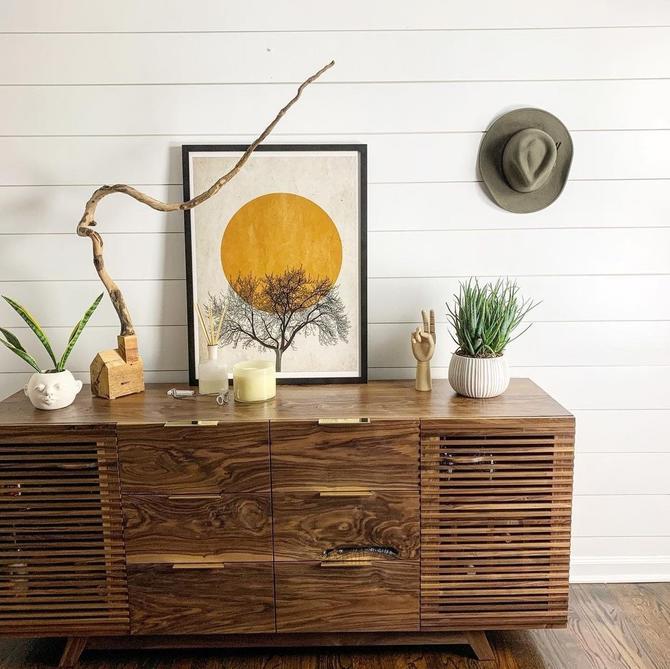 Bar cabinet, dresser, liquor cabinet, wine cabinet, credenza, sideboard by WoodbeeWoodworks