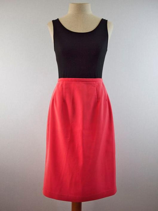 Posy Pink Pencil Skirt by citybone