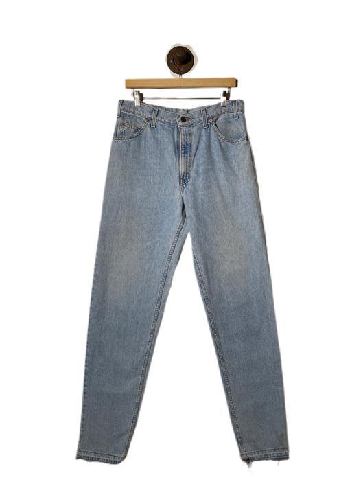"""(34"""") Levis 550 Light Wash Denim Pants 022221"""