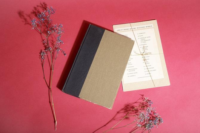 Vintage Reclaimed Repurposed Handbound Book Watercolor Sketchbook - Melville by AppleBranchesVintage