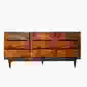 #576: Mid Century Triple Dresser
