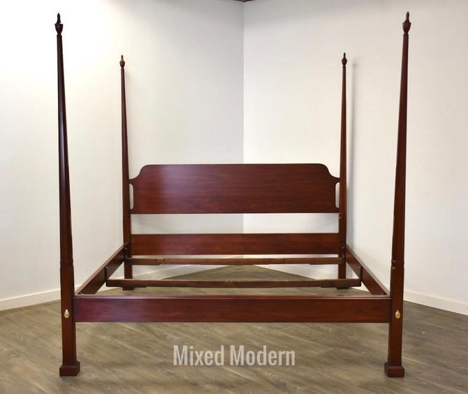 Henkel Harris Solid Cherry King Bed by mixedmodern1