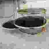 Midcentury Milo Baughman Style Tiered Coffee Table