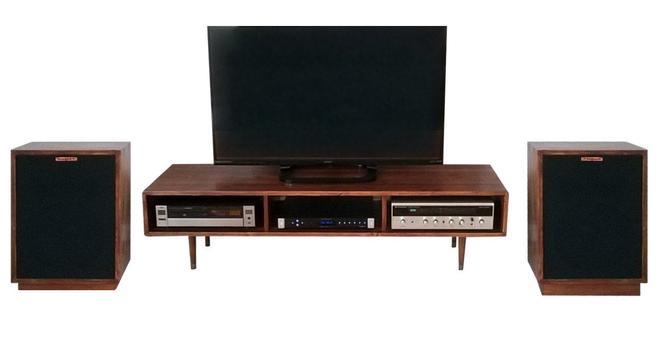 Mid Century Modern TV Stand Media Console by OrWaDesigns